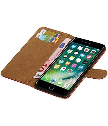 MobileFashion Dentelle Book Cases pour Iphone 6 plus Portefeuille Case Cover Booktype avec Slots pour cartes et support