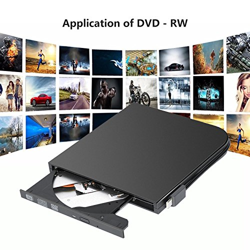 DVD Drive PC Computer CD,External USB Optical Player, Ultra-Thin Portable Type-C DVD Burner/Writer/Rewriter Various Brands Laptop Desktop All-in-one Machines so on by tengertang (Image #5)