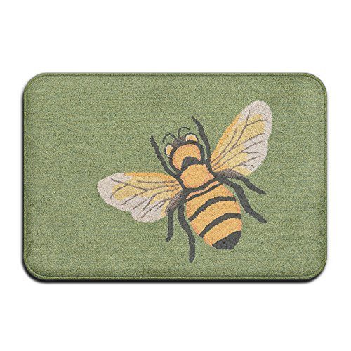 Honeybee Super Absorbent Anti-Slip Mat,Coral Carpet,Carpet Door Mat,Carpet,Carpet,Door Mat,40x60 Cm