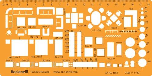 Interior Design Symbols For Furniture ~ Matric scale architectural drawing template stencil