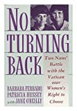 No Turning Back, Barbara Ferraro and Patricia Hussey, 0671644068