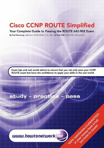 Cisco CCNP Route Simplified: Paul William Browning, Farai Tafa ...