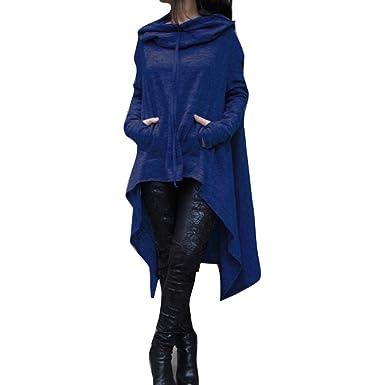 Yying Herbst Lange Frauen Übergrößen Hoodie Damen Pullover QxBWdCeroE