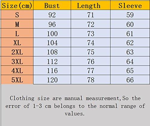 Blouses Tops Lache Chemisiers Pois Haut Printemps et Rose T Fashion Col Shirts Femme Longues Manches Automne Casual V Rouge JackenLOVE 81gnY6Y
