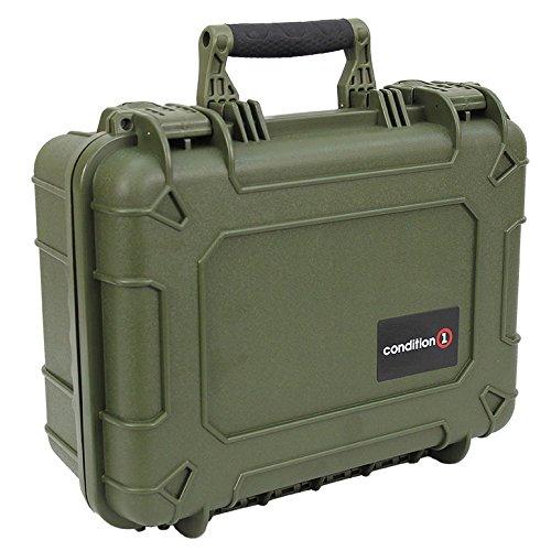 um #179 Green Waterproof Hard Case with DIY Customizable Foam ()