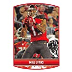 3b331aa0925 2018 Panini NFL Stickers Collection #376 Mike Evans Tampa Bay Buccaneers  Official.
