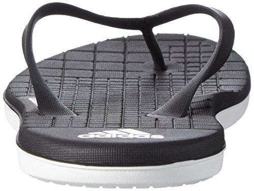 adidas Eezay CF W, Chanclas Mujer Negro (Cblack/Ftwwht/Cblack)