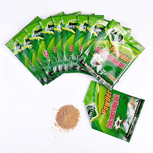Roach Insecticide Bait - Kiorc 50pcs Effective Powder Cockroach Killing Bait Roach Killer Pesticide Insecticide