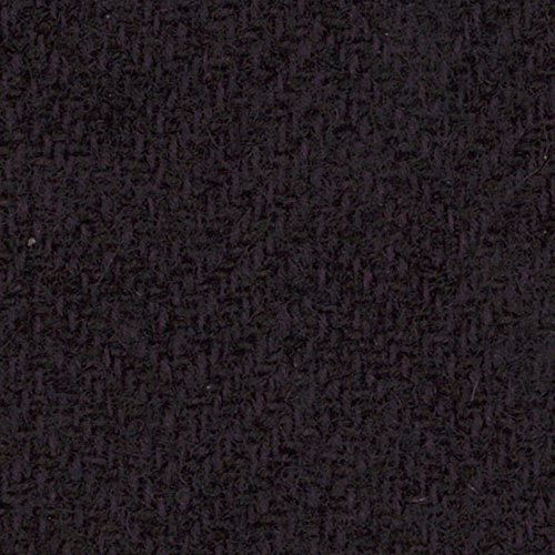 Primitive Gatherings Hand Dyed Wool Plum Herringbone 15 inch x 25 inch Cut Piece Moda PRI 5053 (Dyed Wool Fabric Hand)
