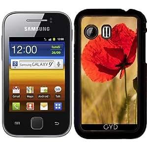 Funda para Samsung Galaxy Y (S5360) - Amapola En Un Campo De Maíz De Oro by UtArt