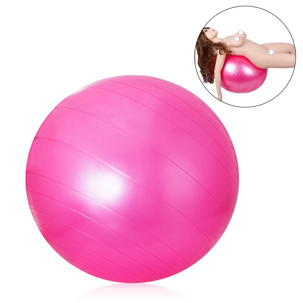 Pink ball chairs - Amazon Com Utimi Massage Ball Sex Position Ball Anti Burst Exercise Ball For Yoga And Pilate With Pump Health Personal Care
