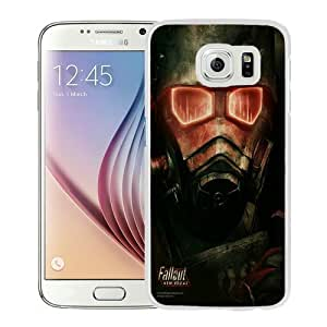 Popular Samsung Galaxy S6 Case, Beautiful Designed Case With Fallout New Vegas White Samsung Galaxy S6 Cover