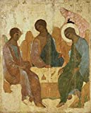 "Wallmonkeys COR088864-60 Holy Trinity Andrei Rublev and Others Wall Decal Peel and Stick Graphic, 60"" x 48"""