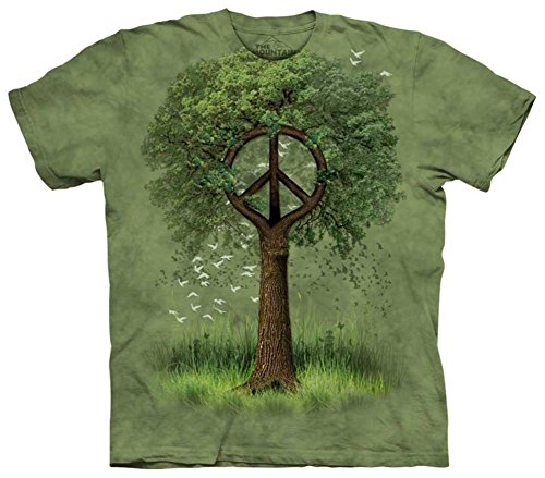 Roots of Peace T-Shirt Size XL (Tie Dyed Shirt)