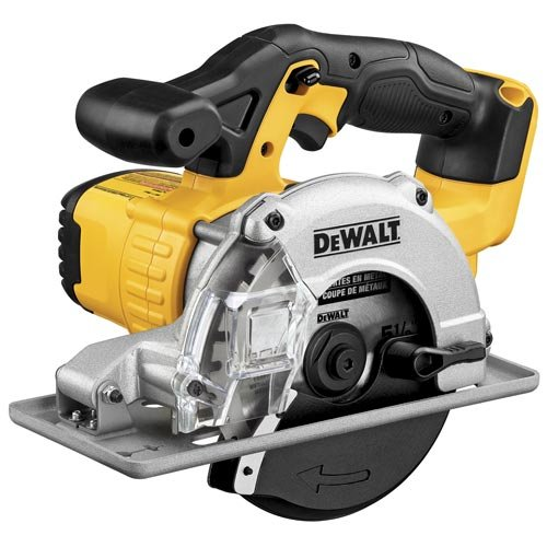 Image of DEWALT 20V MAX 5-1/2-Inch Circular Saw, Metal Cutting, Tool Only (DCS373B) Home Improvements