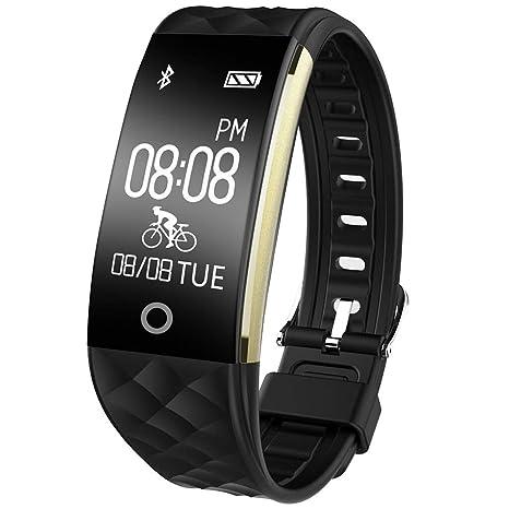 8a9730bfedc81a Willful Activity Fitness Tracker Cardio Impermeabile IP67 per Nuoto  Bluetooth Smartband Orologio Braccialetto Pedometro, Unisex