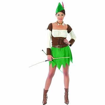 NET TOYS Disfraz arquera Atuendo Medieval Mujer de los ...