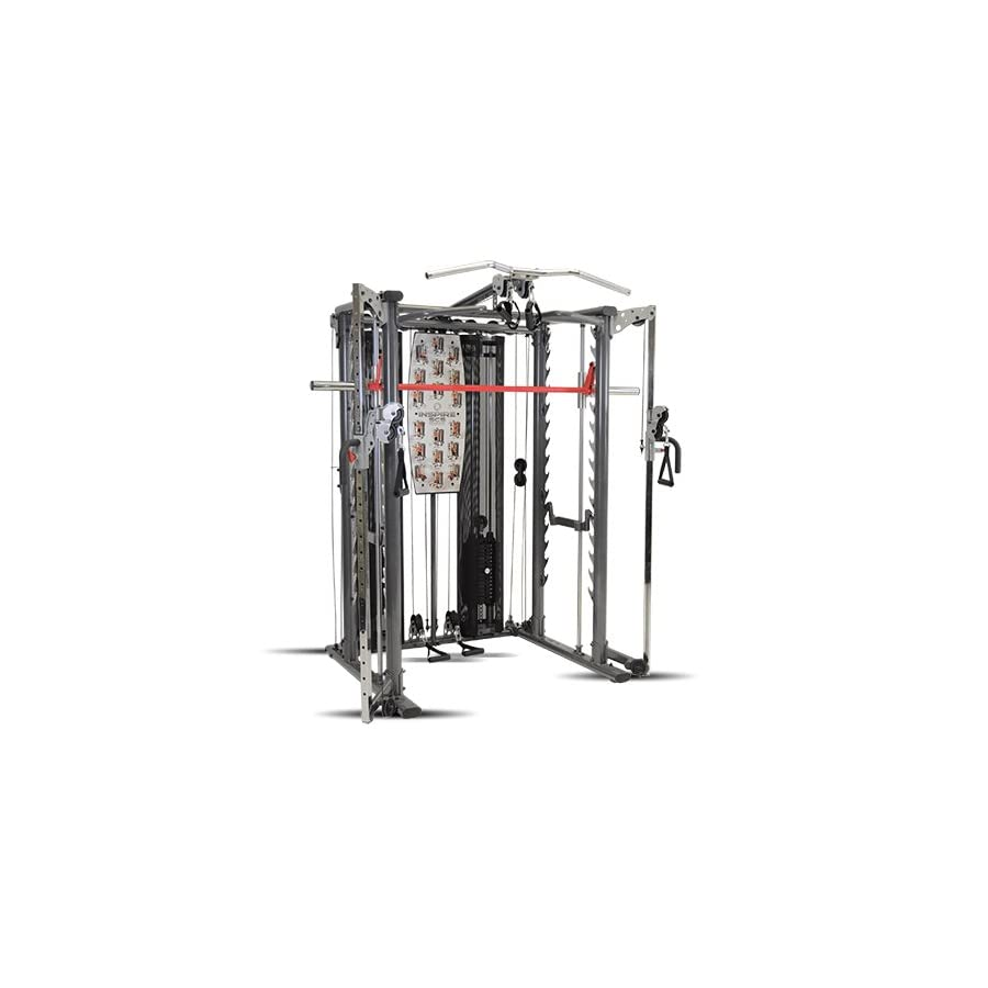 Inspire Fitness SCS Smith System/Cage System/Functional Trainer (All in One Gym)
