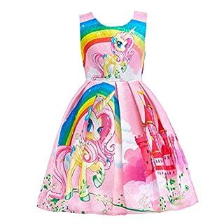 Dressy Daisy Girls Dress Costumes Unicorn Costumes Fancy Dress up Size 6X Pink FC127
