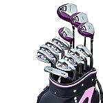 Decorazione-di-mobili-Set-di-mazze-da-golf-Putter-da-golf-da-donna-Mazze-da-golf-13-pezzi-Set-da-golf-leggeri-Mazze-da-golf-da-donna-Set-di-mazze-complete-Sbarre-per-esercizi-Accessori-da-golf-Col