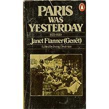 Paris Was Yesterday, 1925-1939