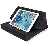 SKIVA EasyStand Pad Pillow Stand for iPad Pro Air Mini, Samsung Galaxy Tab Note 10.1, Google Nexus 7, Microsoft Surface Pro, Tablets, E-Readers (Black) [Model:ES101] (Black)