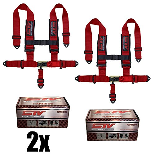 STVMotorsports 5 Point Racing Seat Harness SFI 16.1 Latch and Link 3