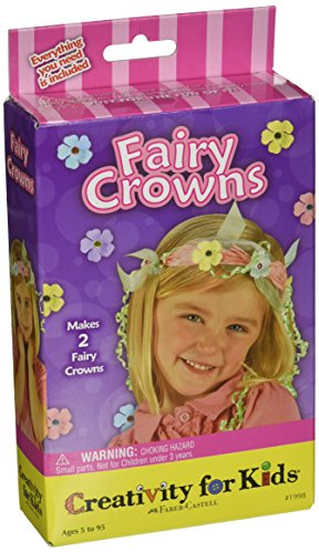 Creativity for Kids Fairy Crowns Mini Craft Kit