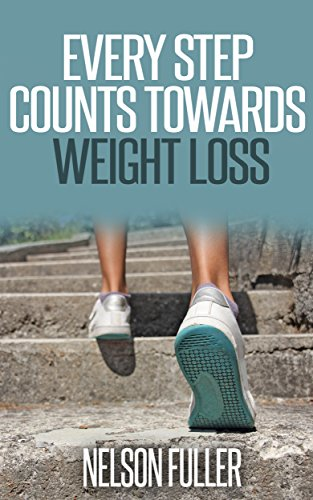 EVERY STEP COUNTS TOWARDS WEIGHT LOSS:  Weight Loss Books How To Lose Weight Walking amp Hiking Healthy Living Walking Walking for weight loss Walking to Burn Calories Fitness amp Dieting