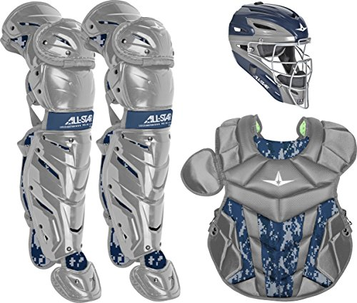 (All-Star Youth System7 Axis Digi Camo Pro Catcher's Set)