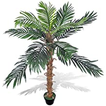 """Living Room Office Decoration Artificial Plant Coconut Palm Tree with Pot 55"""""""