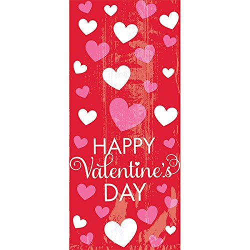Happy Valentine's Day Small Party Bags 20 BAGS 1.00 X 8.00 X5.00 IN -