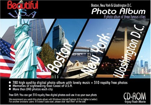 (CD-ROM Beautiful U.S.A. Photo Album(Boston, NYC, Washington DC))