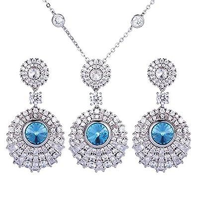 Nice Xuping Elegance Pendant Earrings Box Crystals from Swarovski Women Jewelry Set Thanksgiving Black Friday