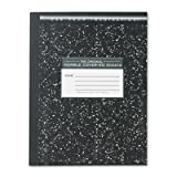 12 Pack Marble Cover Composition Book, Wide Rule, 9-3/4 x 7-1/2, 50 Pages by ROARING SPRINGS (Catalog Category: Paper, Envelopes & Mailers / Notebooks) by ROARING SPRINGS