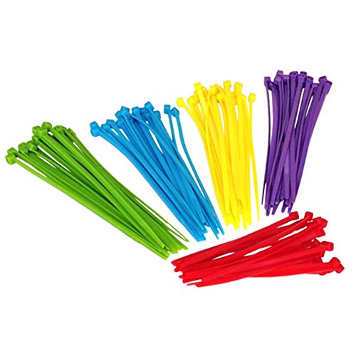 7 nylon cable ties - 9