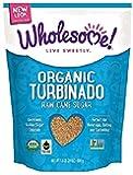 Wholesome Organic Raw Cane Turbinado Sugar, Fair Trade, Non GMO, 1.5 lbs. (Pack of 12)