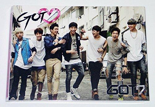 GOT7 - GOT♡ GOT LOVE (2nd Mini Album) CD + Photo Booklet + Alphabet Chip + Extra Gift Photocard Set ()