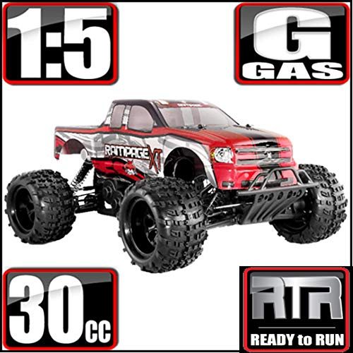 (Redcat Racing Rampage XT Gas Truck, Red, 1/5)