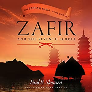 Zafir and the Seventh Scroll Audiobook