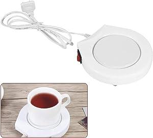 Coffee Mug Warmer for Desk Cup Warmer?Portable 110V Electric Powered Cup Warmer Heater Pad Coffee Tea Milk Mug?Tea Coffee Cup Warmer?US Plug?