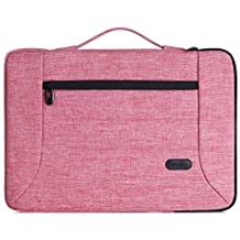 ProCase 14 - 15.6 Inch Laptop Sleeve Case Cover Bag for 15 Inch MacBook Pro/ Pro Retina, Sleeve Bag for 14 15 Inch Laptop Ultrabook Notebook Chromebook Lenovo Dell Toshiba HP ASUS Acer -Pink