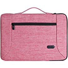 "ProCase 13 - 13.5 Inch Laptop Sleeve Case Cover Bag for Macbook Pro Air, Surface Book, Most 12"" 13"" Laptop Ultrabook Notebook MacBook Chromebook -Pink"