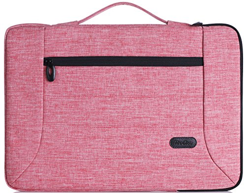 ProCase 14-15.6 Inch Laptop Sleeve Case Cover Bag for MacBook Pro, Most 14 15 Inch Laptop Ultrabook Notebook Chromebook Lenovo Dell Toshiba HP ASUS Acer -Pink