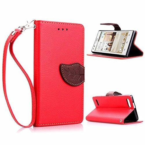 sibaina Téléphone portable étui pour iPhone 5/5S/5C/66S, luxe Portefeuille Étui Housse Coque Arrière pour iPhone 5/5S Motif Etui à rabat en cuir PU pour iPhone 66S Plus avec porte-cartes et support