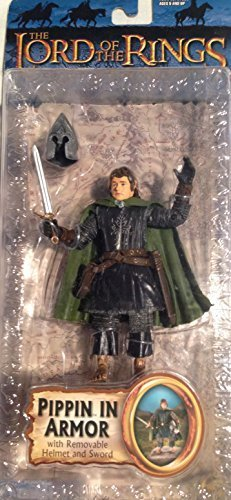 Lord of the Rings Trilogy ROTK  Action Figure Pippin in Armor