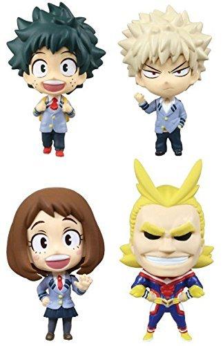 Takara Tomy DEFOME Deformation mini My Hero Academia Set of 4