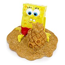 Spongebob With Pineapple Sand Castle Ornament