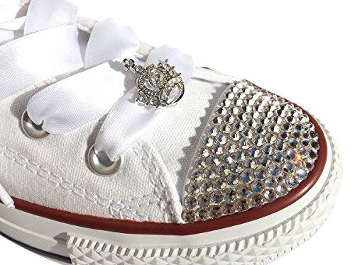 lacci in raso per scarpe converse