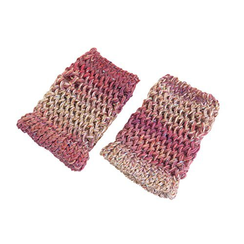 Knitting kit ring de knit arm warmer by Olempus made cord